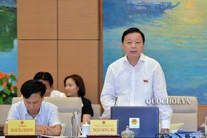 Bộ trưởng Trần Hồng Hà muốn dành 'ghế' ở Quốc hội cho các đại biểu chuyên trách