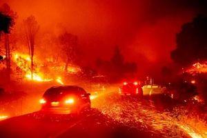 Cháy rừng tiếp diễn tại bang California, Mỹ