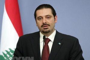 Thủ tướng Liban Saad al-Hariri tuyên bố đệ đơn từ chức