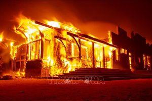Cháy rừng lan rộng tại Los Angeles, hàng nghìn người phải sơ tán giữa đêm
