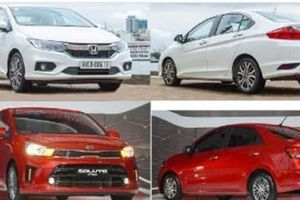 So sánh Honda City 2019 và KIA Soluto 2019