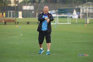 HLV Park tiết lộ về bản hợp đồng mới trước buổi tập của đội tuyển Việt Nam