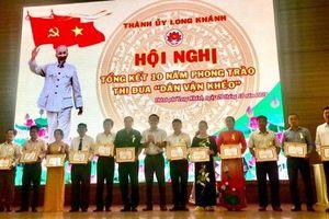 Khen thưởng 91 tập thể, cá nhân trong phong trào thi đua 'dân vận khéo'