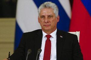 Chủ tịch Cuba thăm chính thức Liên bang Nga