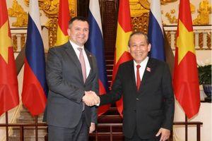 Phó Thủ tướng Trương Hòa Bình: Ủng hộ Nga mở rộng thăm dò, khai thác dầu khí tại thềm lục địa Việt Nam
