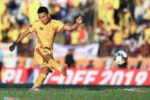 Cựu tuyển thủ Quốc gia ghi bàn, Thanh Hóa trụ hạng V-League