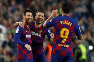 Messi tỏa sáng, Barca 'vùi dập' Valladolid xây chắc ngôi đầu