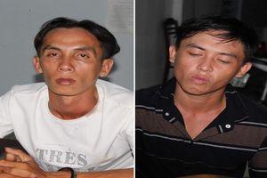 Hai người trộm xe máy ở BV Cần Thơ