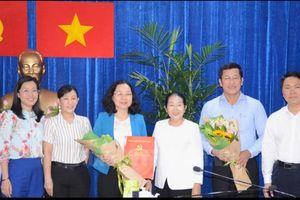 Đồng chí Thái Thị Bích Liên làm Bí thư Quận ủy quận 4