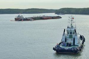 Hậu trường giải cứu thảm họa tràn dầu vì tàu chìm ở Cần Giờ