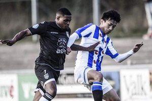 HLV Heerenveen hé lộ cơ hội ra sân lần đầu tiên trong đội hình một của Văn Hậu