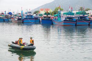BĐBP Ninh Thuận triển khai công tác phòng, chống bão số 5