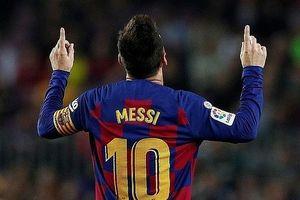 Messi tỏa sáng, Barcelona đè bẹp Valladolid