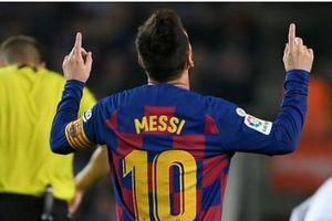 Giúp Barcelona đè bẹp Valladolid, Messi lập kỷ lục khủng