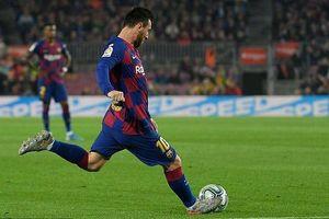 Siêu nhân Messi giúp Barca 'hủy diệt' Valladolid