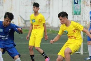 Gay cấn loạt trận đấu vòng bảng giải bóng đá học sinh tranh cup Number 1 Active