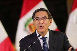 Tòa án Hiến pháp Peru chấp nhận xem xét cáo buộc Tổng thống Vizcarra