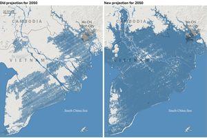 Năm 2050, phần lớn miền Nam Việt Nam sẽ chìm dưới nước biển, kể cả Tp. HCM?