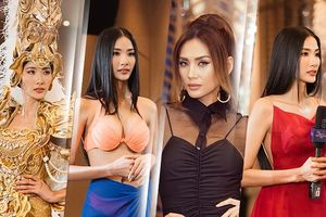 Xả vai Mentor, Hoàng Thùy luyện thi Miss Universe, 'catwalk gãy' khiến Võ Hoàng Yến chê thẳng mặt?