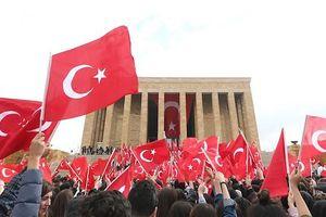 Tổng Bí thư, Chủ tịch nước gửi điện mừng Quốc khánh Thổ Nhĩ Kỳ