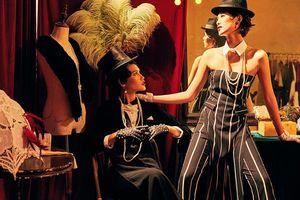 Quán quân Next Top Model Mai Giang mặc áo dài lấy cảm hứng từ Tuxedo