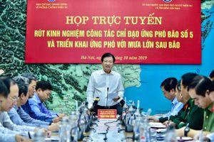 Phó Thủ tướng Trịnh Đình Dũng: Cần theo dõi chặt diễn biến mưa lũ sau bão