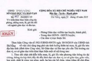 Đà Nẵng: Giả mạo công văn của Sở Giáo dục 'cho học sinh nghỉ học'