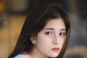 Hot girl trường Luật được nhận xét giống idol Hàn Quốc