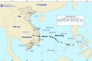 Bão số 5 suy yếu thành áp thấp nhiệt đới, đề phòng xảy ra lũ quét, sạt lở đất vùng núi