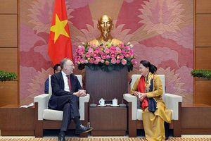 Chủ tịch Quốc hội Nguyễn Thị Kim Ngân tiếp Chủ tịch Ủy ban Thương mại quốc tế của EP