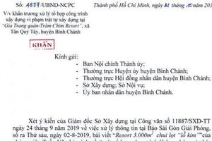 UBND TP HCM chỉ đạo cưỡng chế 'Gia Trang quán - Tràm Chim Resort'