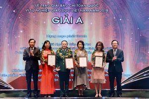70 tác phẩm vào Chung khảo Giải Báo chí toàn quốc 'Vì Sự nghiệp Giáo dục Việt Nam' năm 2019