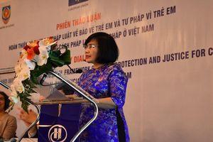 Quốc tế đánh giá cao nỗ lực hoàn thiện pháp luật về trẻ em của Việt Nam