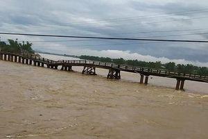 Bão số 5 gây thiệt hại nhiều nơi ở Bình Định
