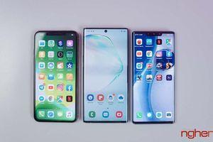 Thị trường smartphone toàn cầu Quý 3/2019: Huawei và Apple tăng tốc bám đuổi Samsung như phim hành động