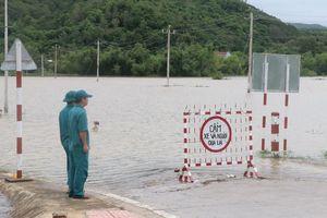 Lũ trên các sông từ Nam Quảng Bình đến Quảng Nam tiếp tục lên