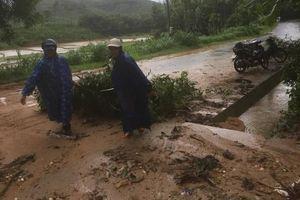 Cảnh báo mưa lớn, lũ quét, sạt lở đất miền Trung, Tây Nguyên sau bão số 5