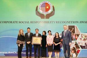 Herbalife Vietnam được trao giải thưởng Trách nhiệm xã hội doanh nghiệp 2019