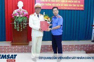 Trao quyết định bổ nhiệm chức vụ Phó Viện trưởng VKSND tỉnh Trà Vinh