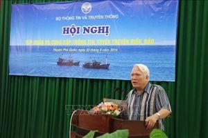 Tập huấn, bồi dưỡng kiến thức về biển, đảo cho các cơ quan báo chí