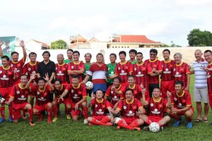 Lý thú cuộc chơi của cựu cầu thủ Bình Định và tuyển quốc gia