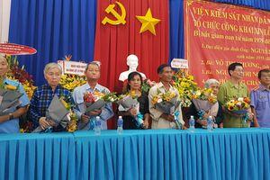 Viện KSND Tây Ninh: Xin lỗi 7 công dân bị bắt giam oan