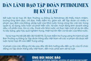 Vì sao hàng loạt lãnh đạo Tập đoàn Xăng dầu Việt Nam bị kỷ luật?
