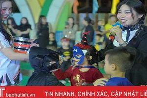 Cuốn hút đêm hội Halloween ở Trường Mầm non quốc tế Trung Kiên
