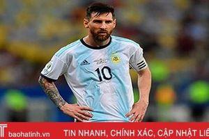 Messi trở lại ĐT Argentina sau 3 tháng bị treo giò