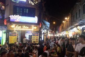Cảnh giác các đối tượng 'hai ngón' ở chợ đêm phố cổ Hà Nội