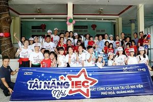 IEC tặng 2 tỷ đồng xây mới cô nhi viện tại Quảng Ngãi