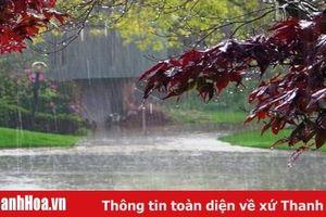 Cảnh báo mưa, mưa to và dông ở Thanh Hóa