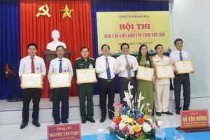 Khánh Hòa tổ chức thành công Hội thi Báo cáo viên giỏi năm 2019