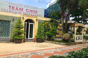 Cận cảnh Gia Trang quán - Tràm Chim Resort xây trái phép bị yêu cầu cưỡng chế